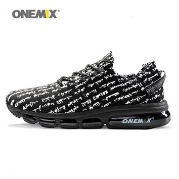 New onemix 2017 air men running shoes for women sneakers lightweight knit mesh vamp sneakers damping cushion for outdoor jogging