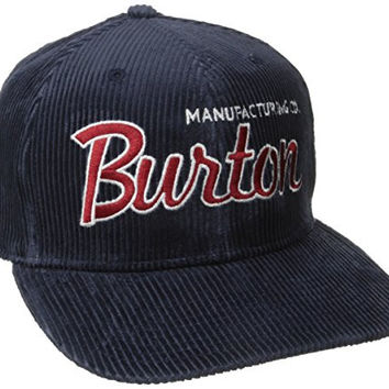 BURTON Boys Standard Snapback Hat, Dark Denim, One Size