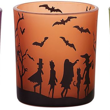 Trick or Treat 3 Assorted Tealight Holders
