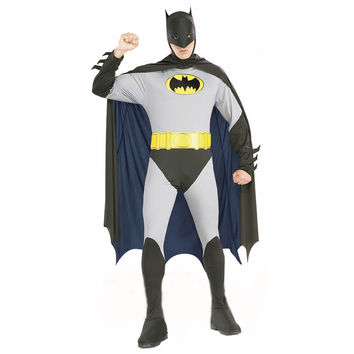 Adult Men Batman Costumes Halloween Dress Party Clothing Halloween Adult Carnival Costumes Hansome Batman Cosply