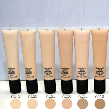 Brand Make up Discountehe Foundation 40ml Professional Foundation NW series 1pcs