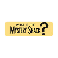 Gravity Falls - What is the Mystery Shack? - Bumper Magnet