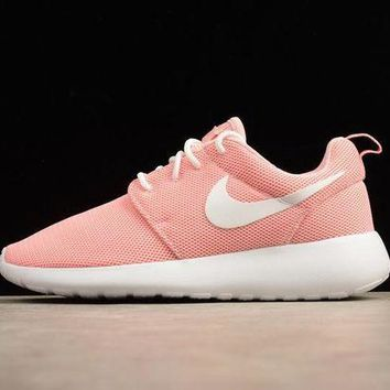 PEAP2Q nike roshe run london pink women running shoes 511882 610