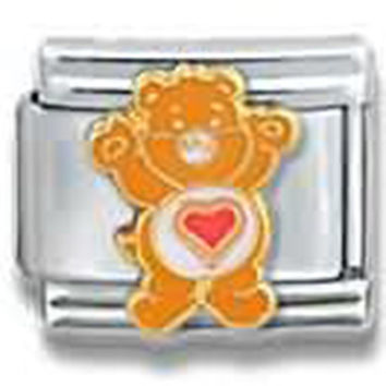 CARE BEARS Tenderheart Bear Officially Licensed Italian Charm