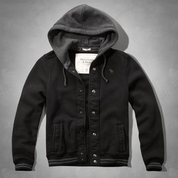 Iconic Hooded Baseball Jacket