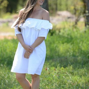 Brielle Off Shoulder Dress