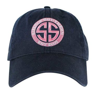 Simply Southern Preppy Collection Logo Hat in Navy HAT-SSLOGO-NAVY