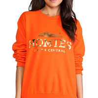 Brian Lichtenberg Homies Sweatshirt in Orange