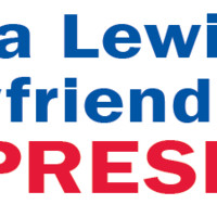 Monica Lewinsky's Ex-Boyfriend's Wife for President Bumper Sticker