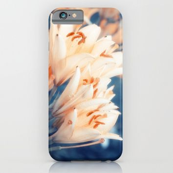 Lilies iPhone & iPod Case by Cinema4design