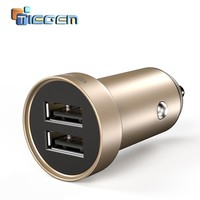 TIEGEM Dual USB Car Charger adapter 3.4A Mobile Phone Car-charger for iPhone 7 Samsung Xiaomi Car Phone Charger Accessories