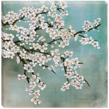 Cherry Blossom Canvas Wall Art (1085) - Illuminada