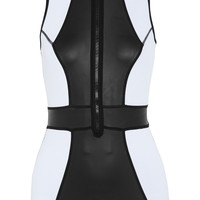 Duskii - Temptation paneled neoprene swimsuit