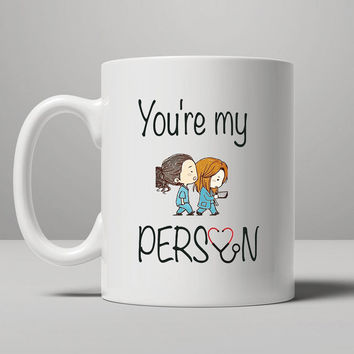 Grey's anatomy- Meredith & Christina Coffee Mug