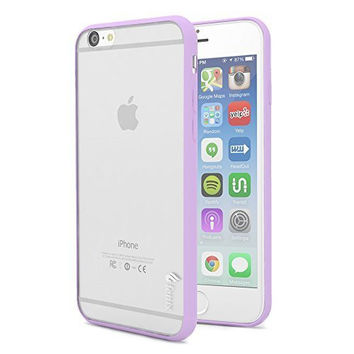 "iPhone 6 4.7"" Full-Body Protection   Purple Rubberized TPU Case"