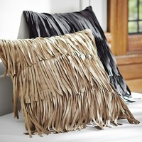 Fab Fringe Pillow Cover