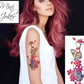 Mini Joker | Awesome Tattoos Butterfly temporary tattoo