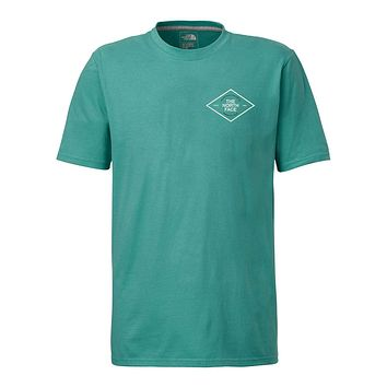 Men's Short Sleeve Retro Tee in Bristol Blue by The North Face