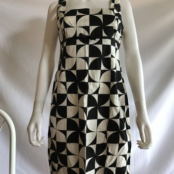 Vintage 90s Abstract Patterns Empire Waist Dresses