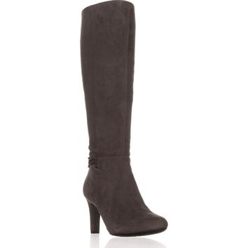 Bandolino Lamari Knee-High Fashion Boots, Dark Grey, 6 US