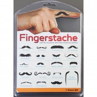 Fingerstashe Temporary Tattoos