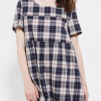 Glamorous Plaid Babydoll Dress - Urban Outfitters