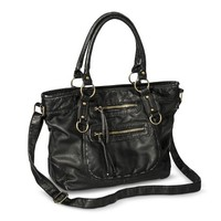 Mossimo Supply Co. Satchel Handbag with Strap - Black