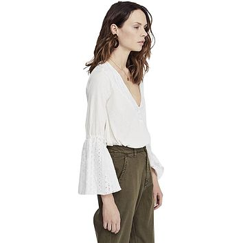 Parisian Nights Top, Ivory