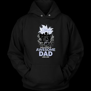 Dragon Ball Super Goku Cool Dad Master Ultra Instinct Art Unisex Hoodie - TL01630HO