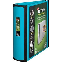 Staples Better 2-Inch D 3-Ring View Binder, Teal (13470-CC) | Staples