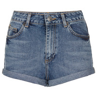 Vintage High Waisted Hotpants - Denim - Clothing - Topshop USA