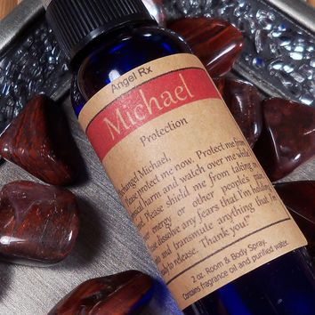 Archangel Michael Protection Spray - Ask Guardian Angel Michael to Protect & Keep You Safe