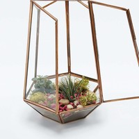 Urban Grow Open Top Copper Terrarium - Urban Outfitters
