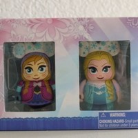 "Frozen Anna and Elsa Combo Pack Disney Vinylmation 3"" inch Figure Limited Edition 1500"