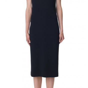 Tibi Viscose Crepe Off-the-Shoulder Midi Dress