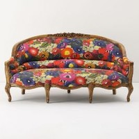 Amelie Sofa, Blazing Poppies