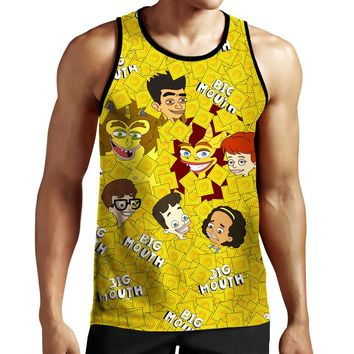 Big Mouth Collage Tank Top