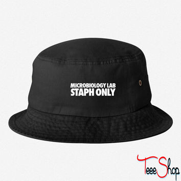 Microbiology Lab Staph Only bucket hat