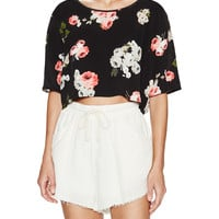 MINKPINK Women's Moon Flower Crop Top -