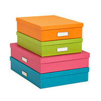 Bright Stockholm Office Storage Boxes