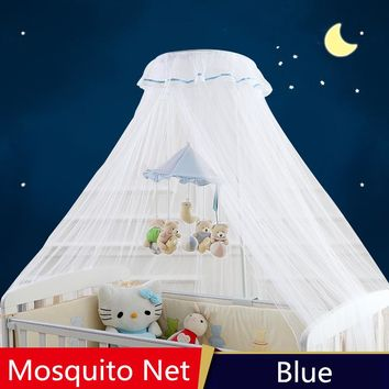 Hanging Round Top Mosquito Net For Infant Crib ,Netting Tent Baby Bed ,mosquiteiros infantis,Canopy Baby Bed ,Summer Protector