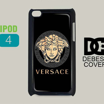 Versace Wood Pattern iPod Cases
