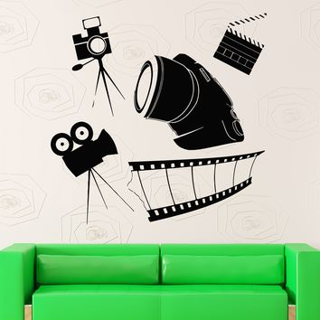 Wall Sticker Vinyl Decal Photo Video TV Film Art Photographer Unique Gift (ig1785)