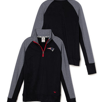 New England Patriots PINK Ultimate Half-Zip - PINK - Victoria's Secret
