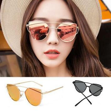 Luxury Cat Eye Double Deck Sunglasses