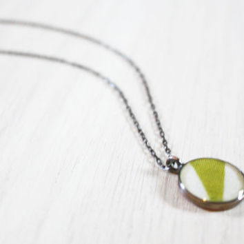 Geometric Triangles Necklace