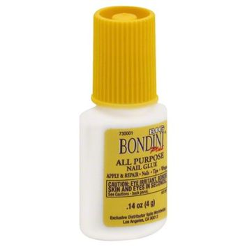 Big Bondini Plus 0.14oz All Purpose Fast Drying Nail Glue Adhesive, 1051 - Walmart.com