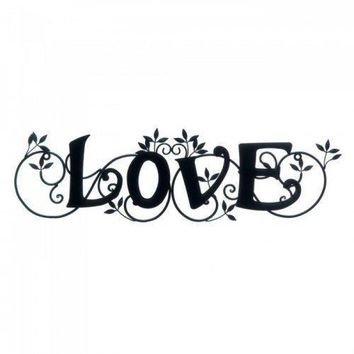Love Wall Plaque (pack of 1 EA)