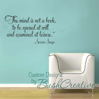 Harry Potter Quote by Snape  Wall Decal by bushcreative on Etsy