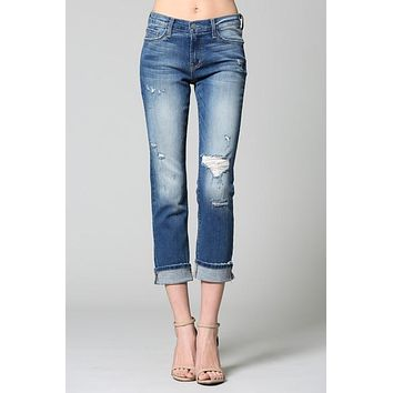 Cameron Flying Monkey Ankle Jeans